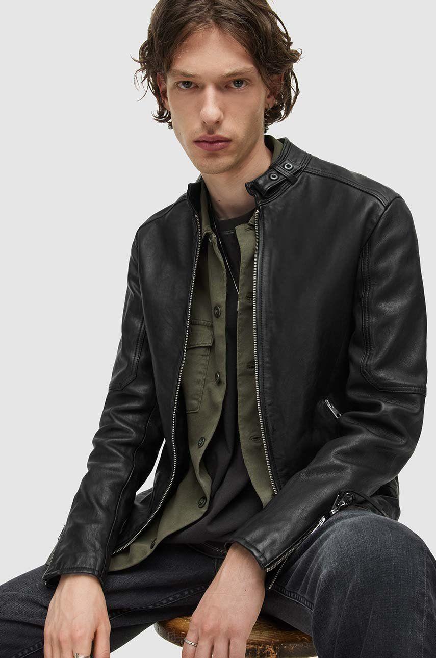 AllSaints - Geaca de piele Cora Jacket imagine answear.ro