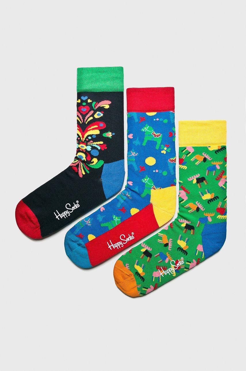 Happy Socks - Sosete 7 Days (3-pack)