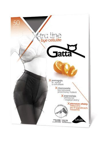 Gatta - Ciorapi X-tra Line Bye Cellulite 50 DEN