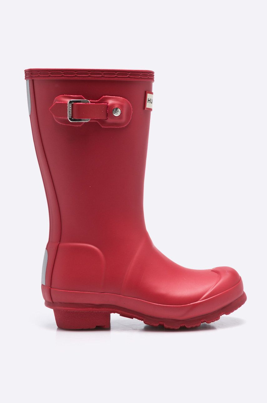 Hunter - Cizme copii Military Red imagine answear.ro