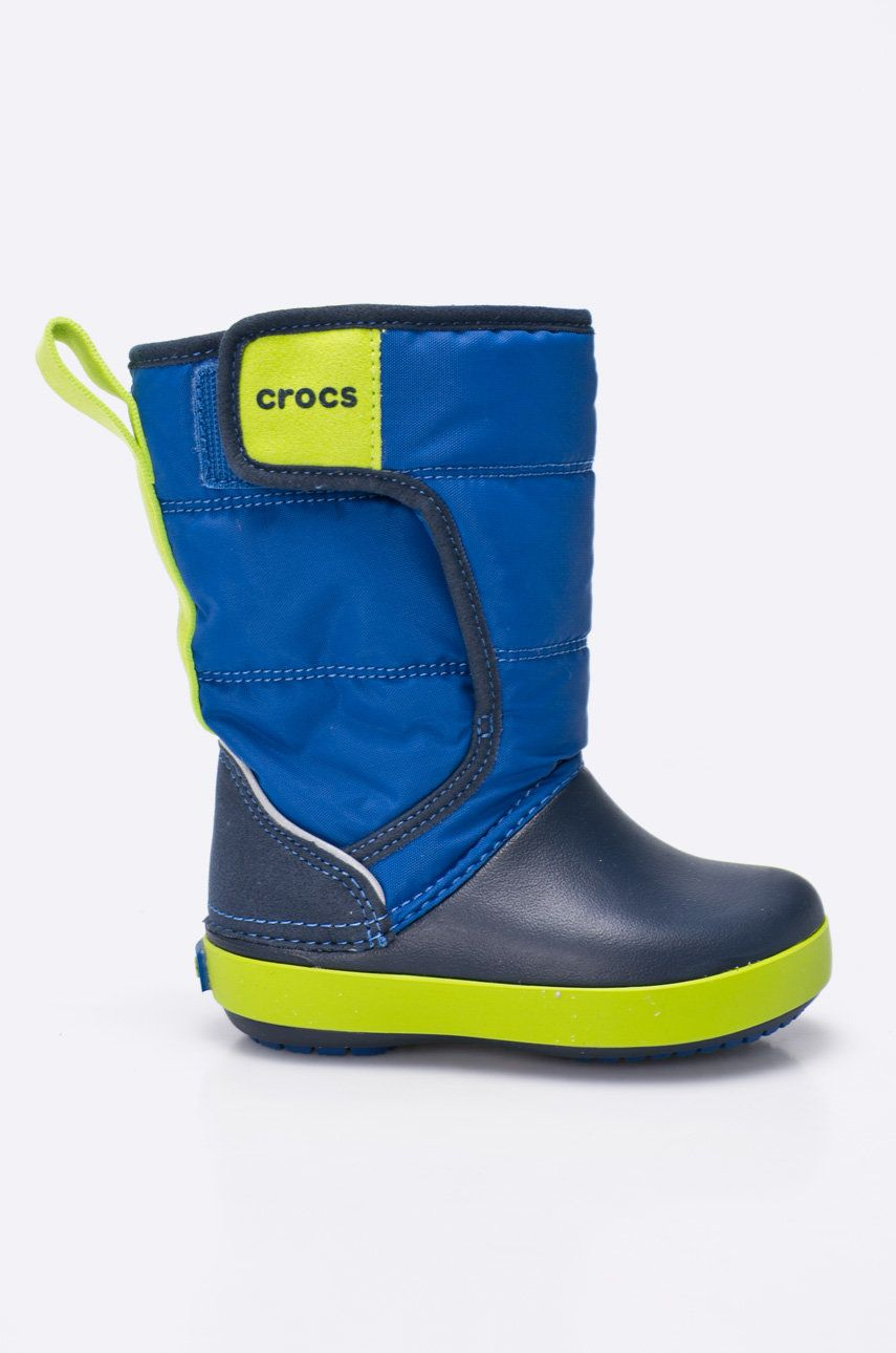 Crocs - Cizme de iarna copii Lodge Point imagine answear.ro