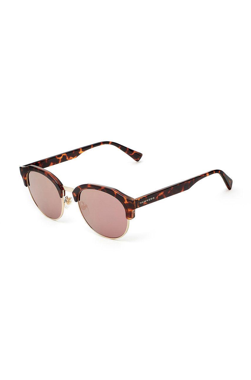 Hawkers - Ochelari de soare CAREY ROSE GOLD CLASSIC