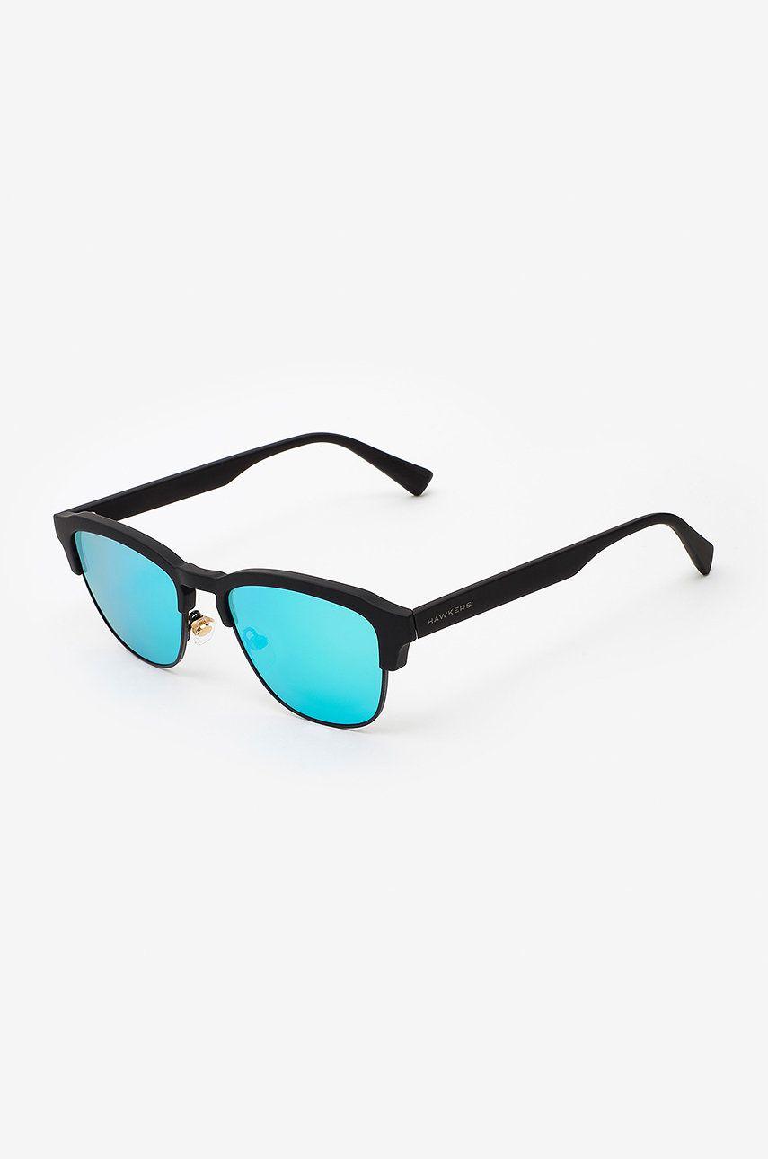 Hawkers - Ochelari de soare RUBBER BLACK CLEARBLUE CLASSIC