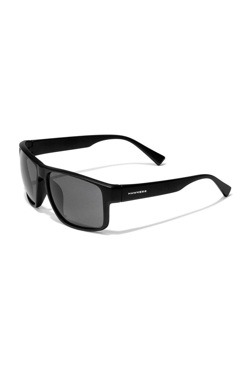 Hawkers - Ochelari de soare POLARIZED BLACK DARK FASTER