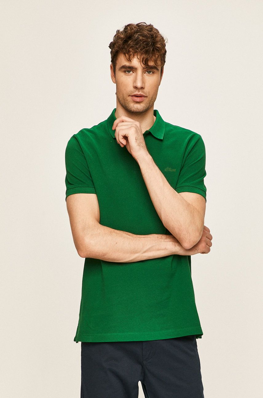 s. Oliver - Tricou Polo imagine 2020