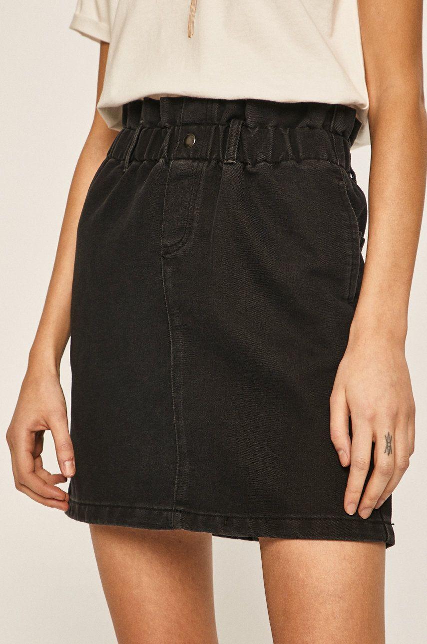 Noisy May - Fusta jeans answear.ro