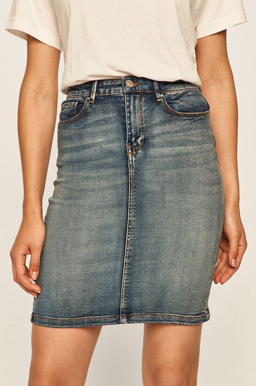 Vila - Fusta jeans
