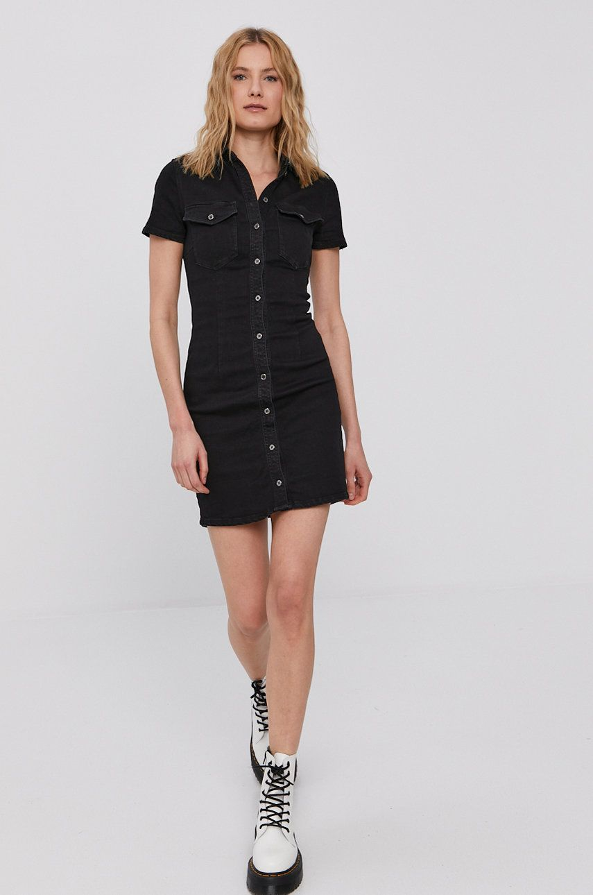 Noisy May - Rochie jeans