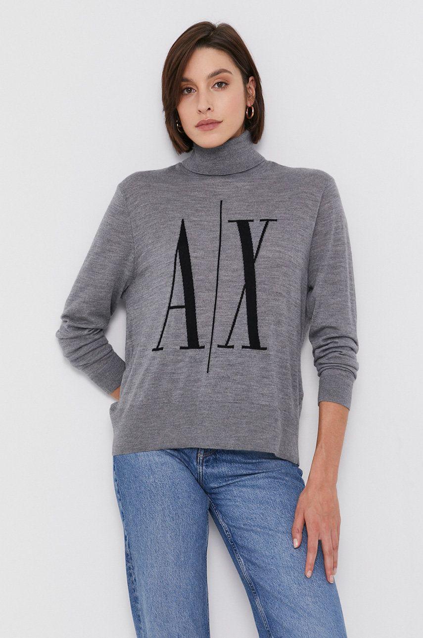 Armani Exchange - Pulover de lana