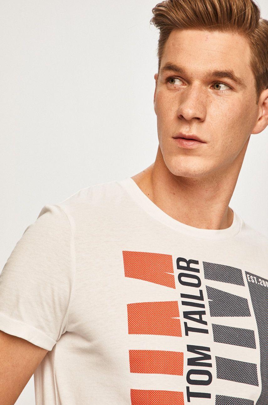 Tom Tailor Denim - Tricou poza answear