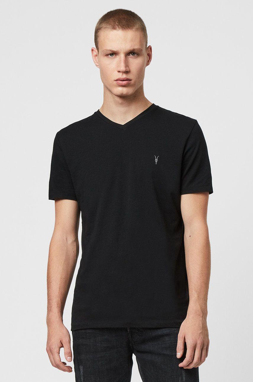 AllSaints - Tricou Tonic V-neck