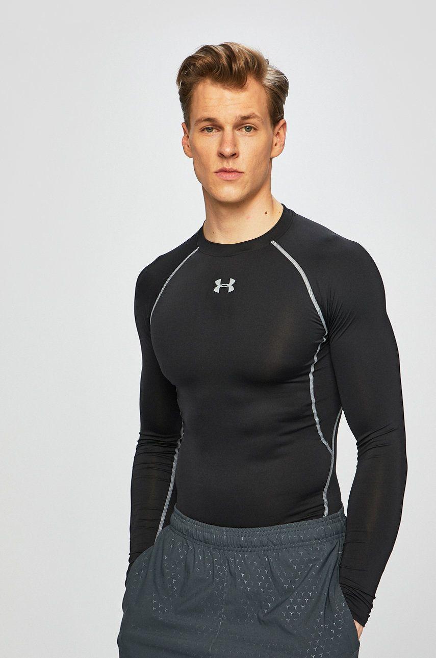Under Armour - Longsleeve HeatGear Armour Long Sleeve Compression Shirt imagine 2020