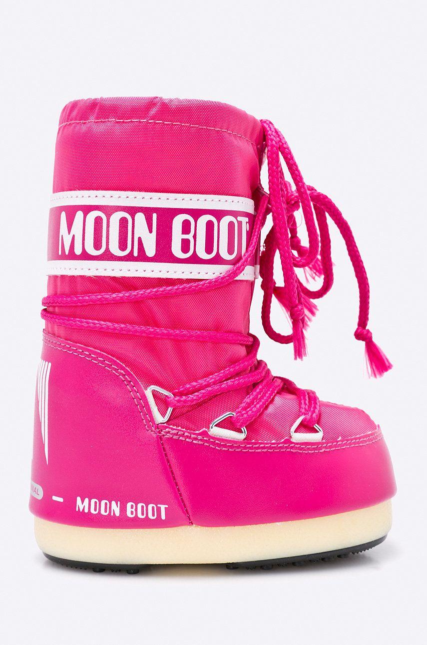 Moon Boot - Cizme de iarna copii Nylon Bouganville poza