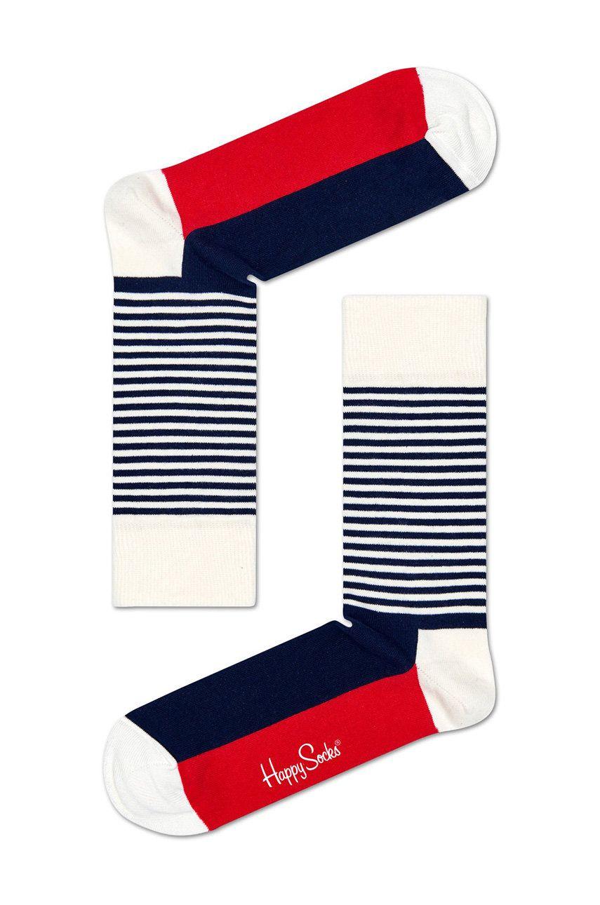 Happy Socks - Sosete Stripe Gift Box (4-pack) answear.ro