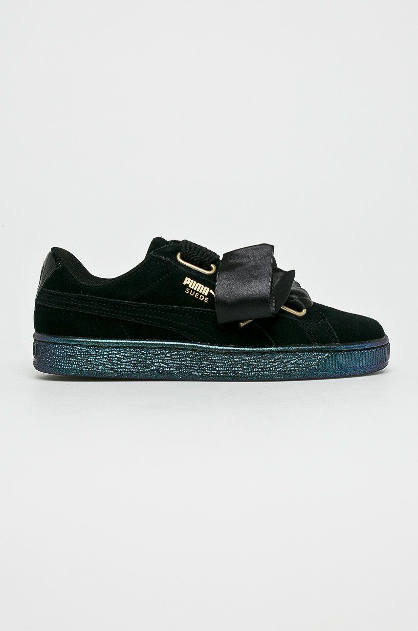 Puma - Pantofi Suede Heart Satin Wn's
