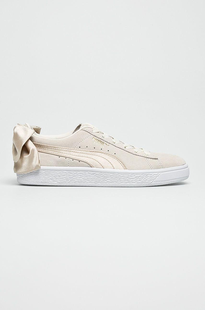 Puma - Pantofi Suede Bow Varsity Wn's