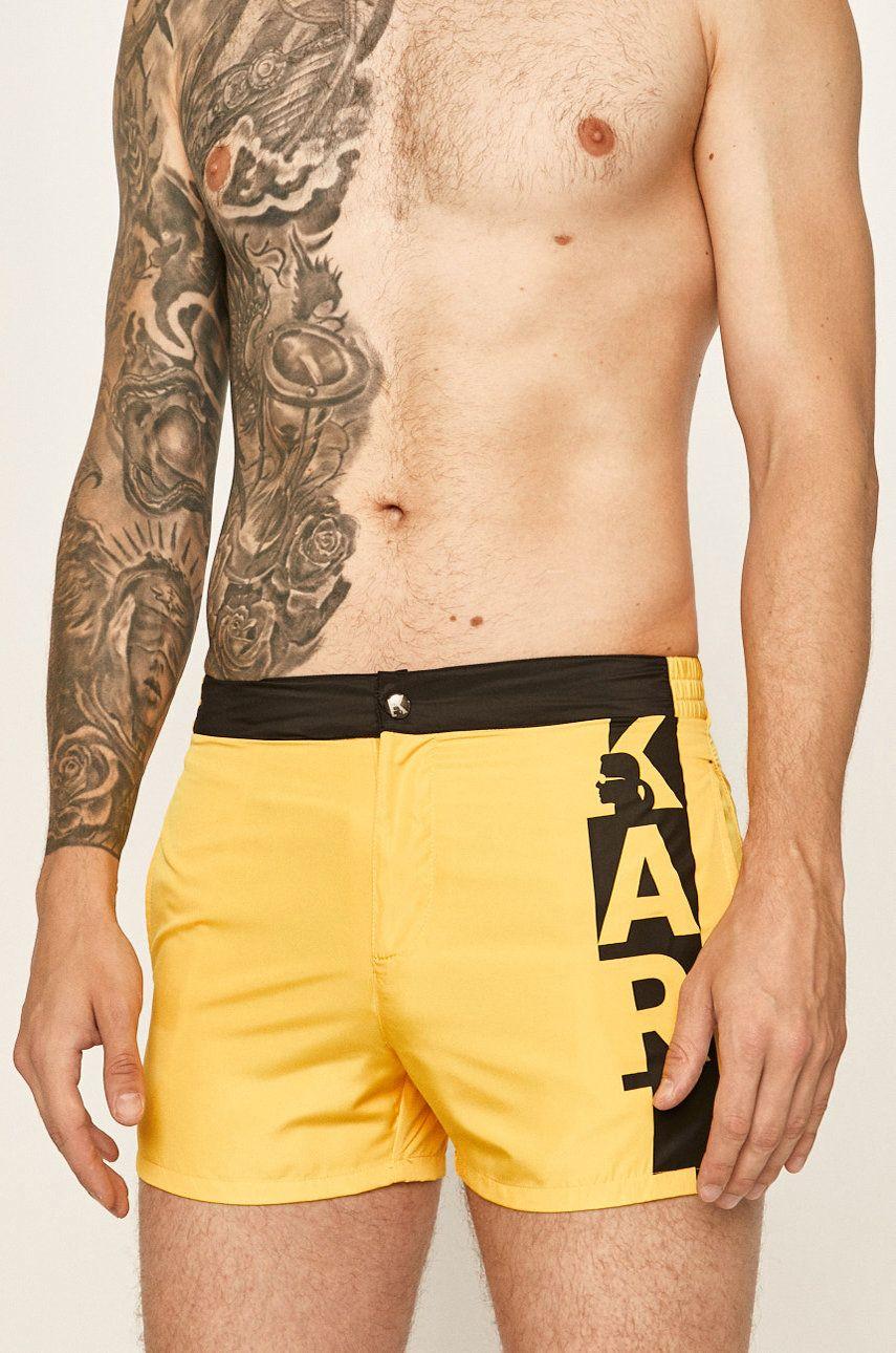 Karl Lagerfeld - Pantaloni scurti de baie imagine 2020