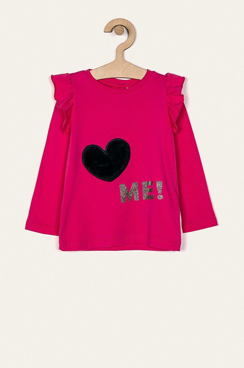 Name it - Detské tričko s dlhým rukávom 92-128 cm