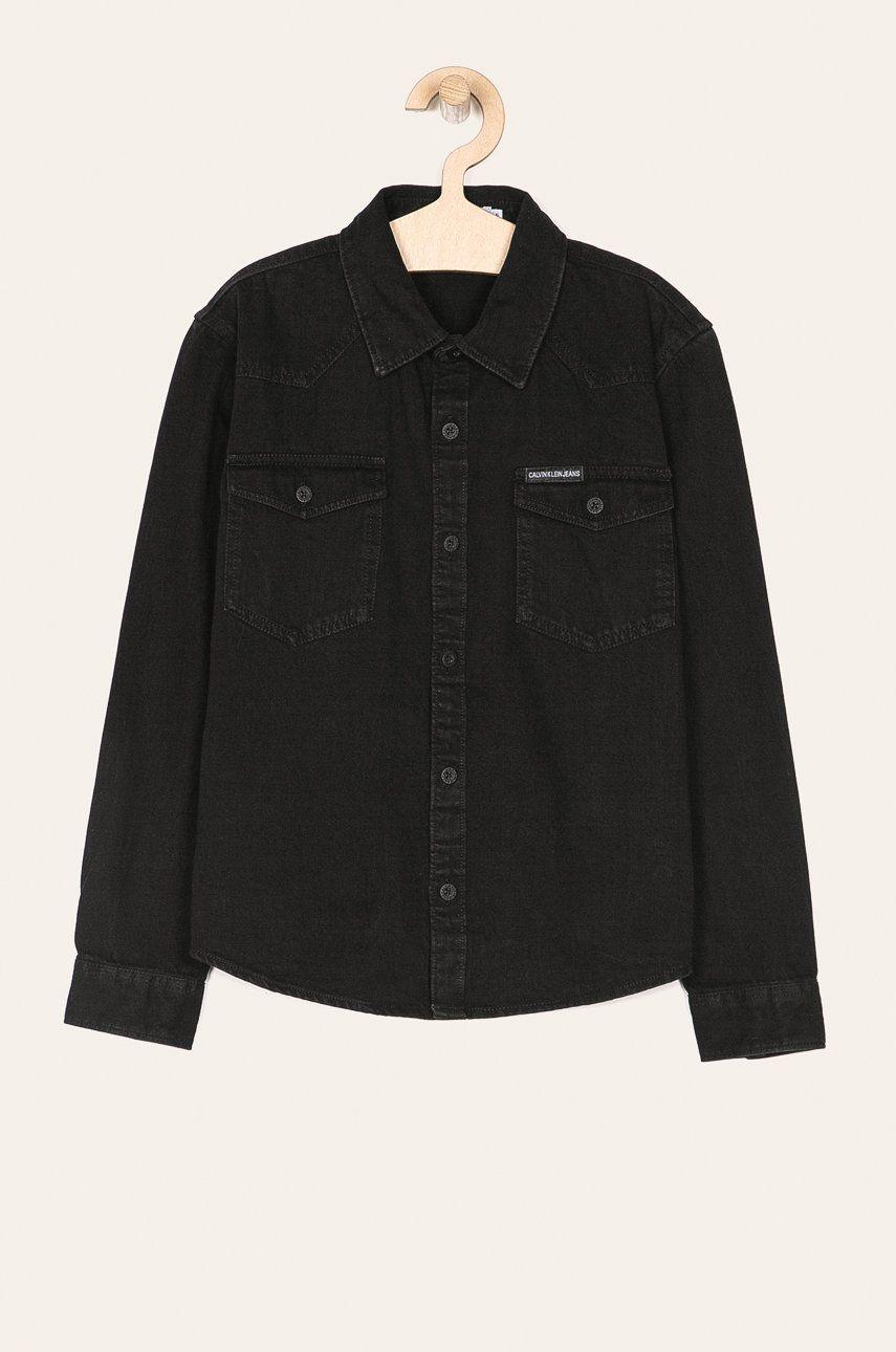 Calvin Klein Jeans - Detská košeľa 140-176 cm