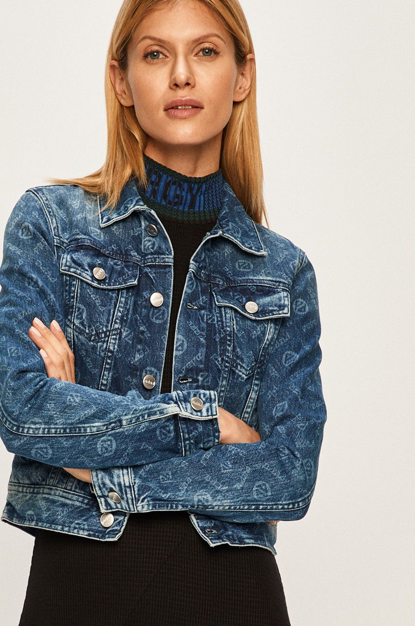 Pepe Jeans - Geaca jeans Maddie Archive