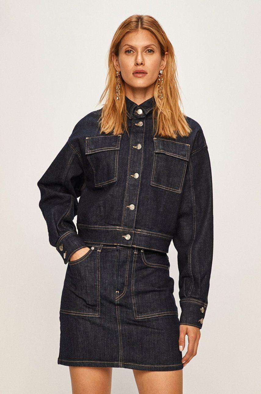 Pepe Jeans - Geaca jeans Peggy x Dua Lipa