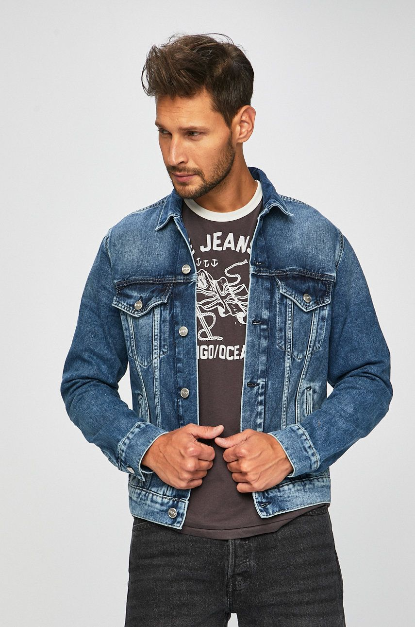 Pepe Jeans - Geaca Pinner imagine 2020