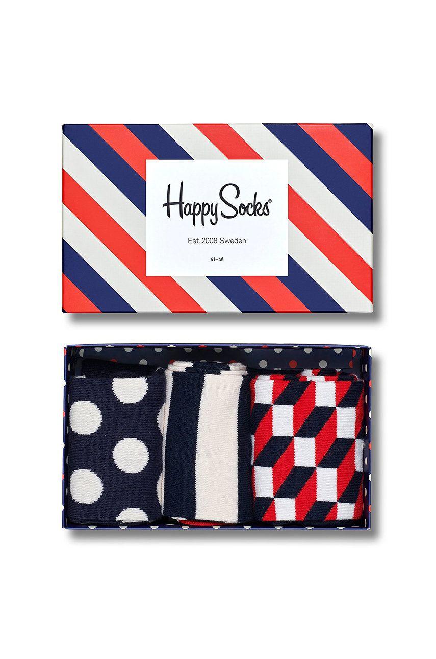 Happy Socks - Sosete (3-pack)