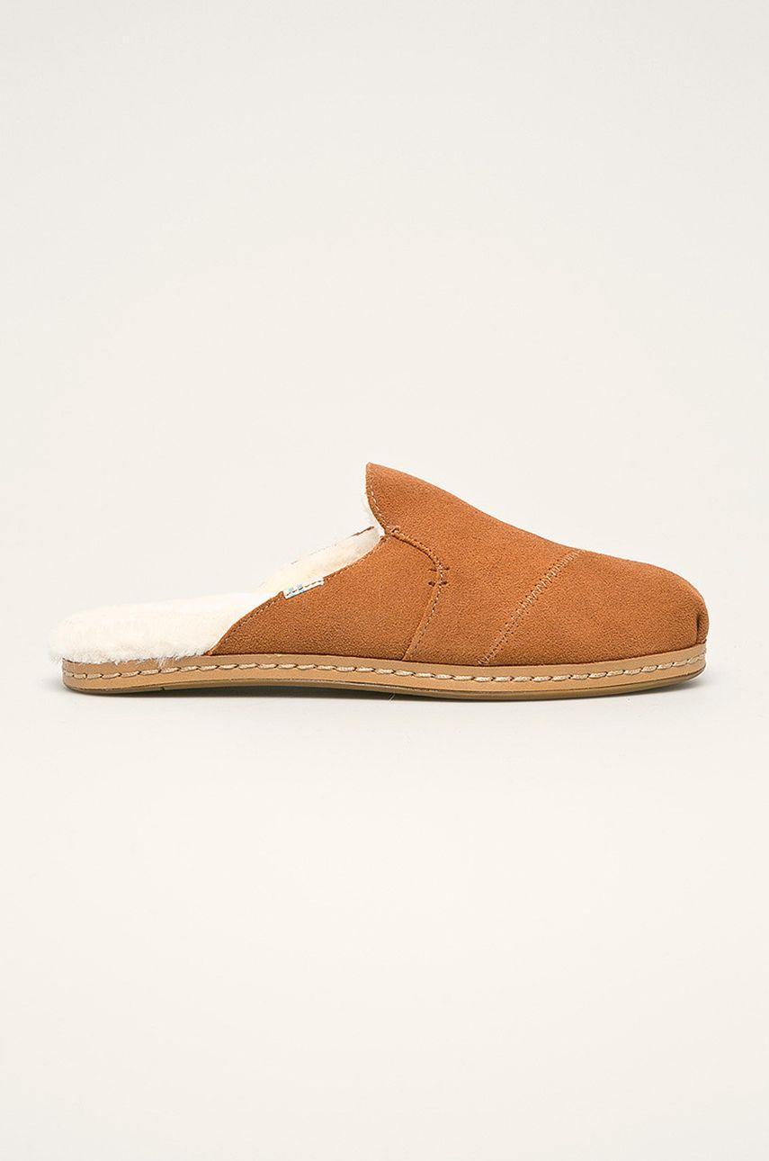 Toms - Papuci de casa Nova Leather Wrap