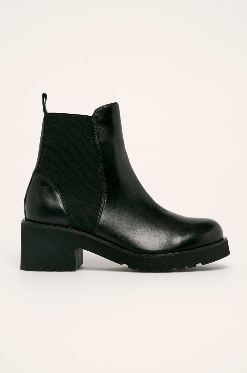 Solo Femme - Kožené topánky Chelsea