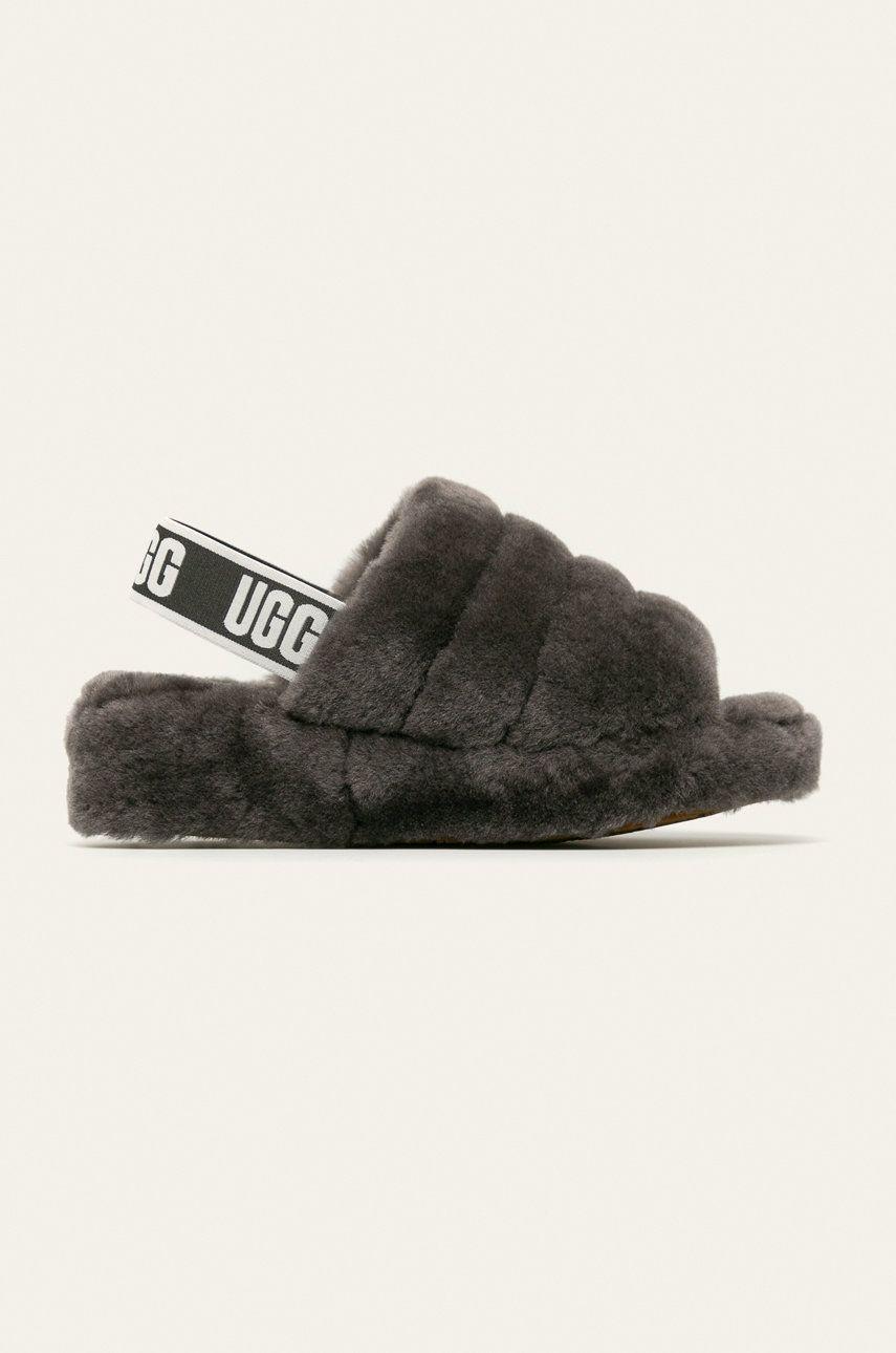 UGG - Sandale W Fluff Yeah Slide