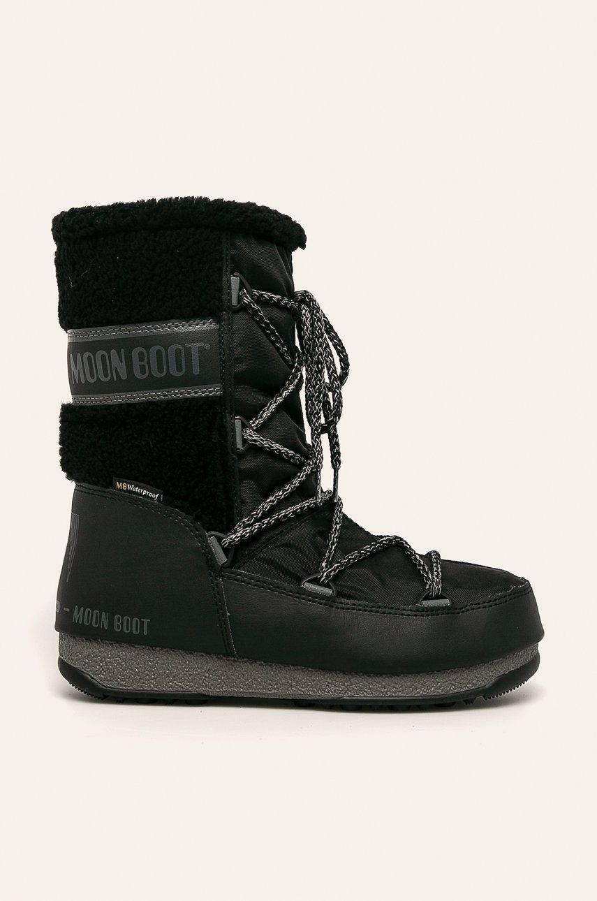 Moon Boot - Cizme de iarna Monaco Wool Mid WP