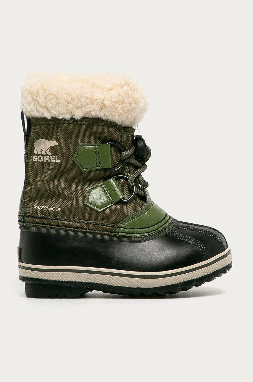 Sorel - Cizme de iarna copii Childrens Yoot Pac poza answear