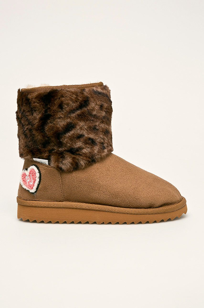 Pepe Jeans - Cizme de iarna copii Angel Leopard poza