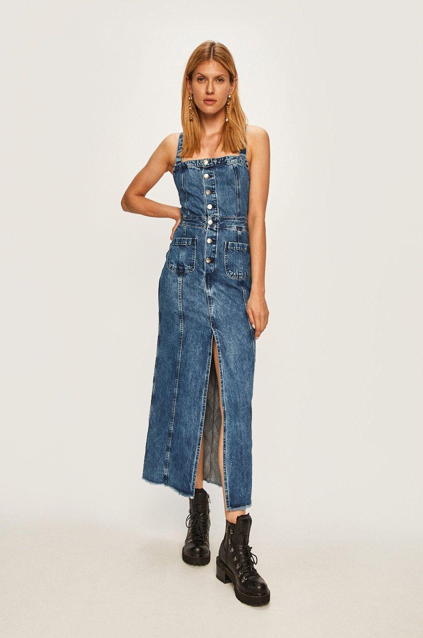 Pepe Jeans - Rochie jeans Lottie x Dua Lipa