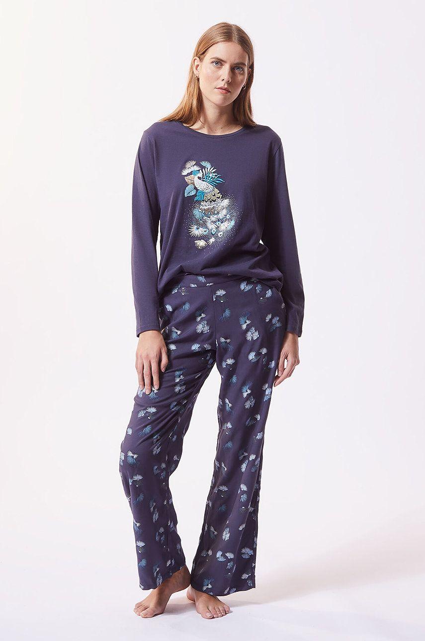 Etam - Set de pijamale din 3 piese ROBYN