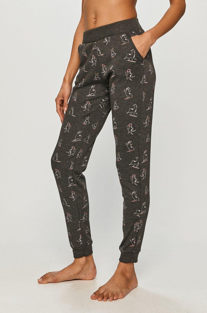 Etam - Pantaloni de pijama OVIDE imagine answear.ro 2021