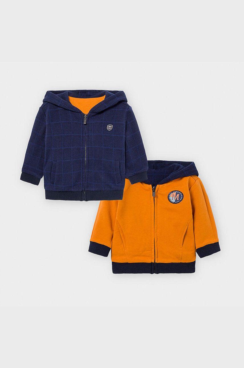 Mayoral - Bluza cu doua fete copii 68-98 cm answear.ro