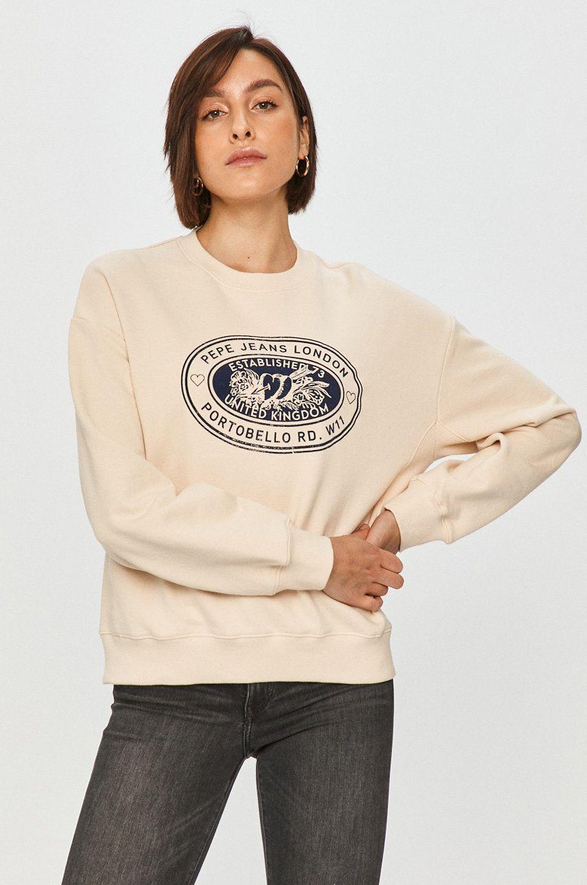 Pepe Jeans - Hanorac de bumbac Camil