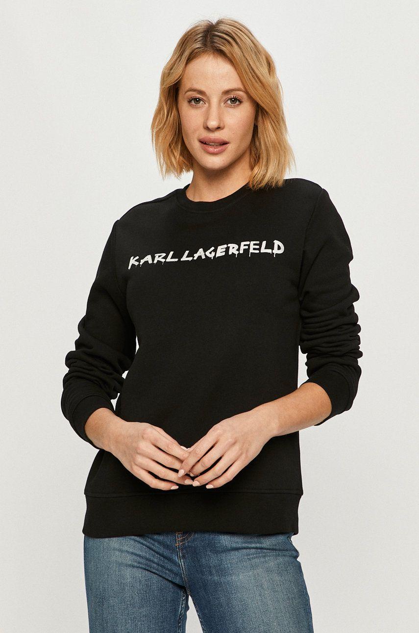 Karl Lagerfeld - Hanorac de bumbac - medelin.ro