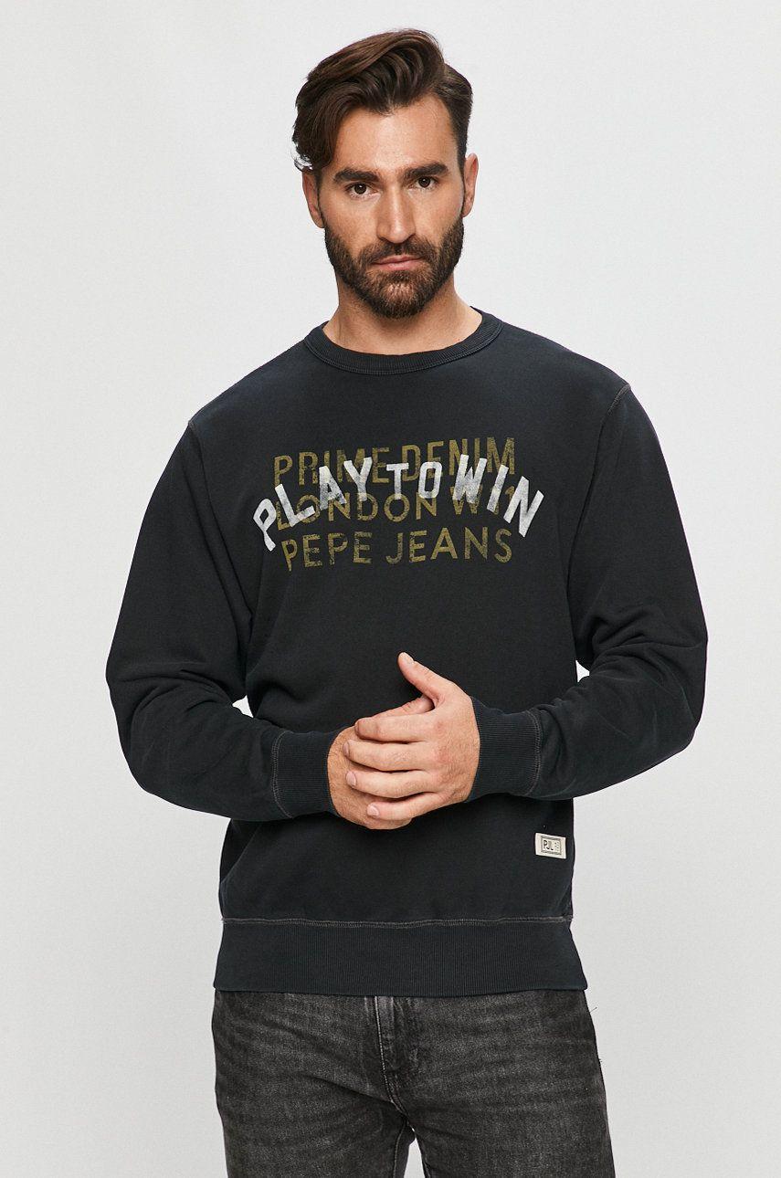 Pepe Jeans - Hanorac de bumbac Rufus imagine