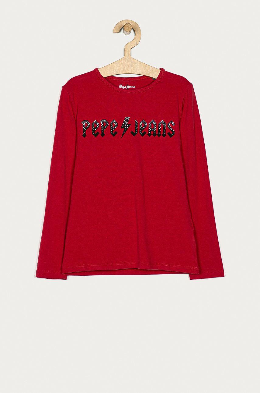 Pepe Jeans - Longsleeve copii Rona 104-180 cm