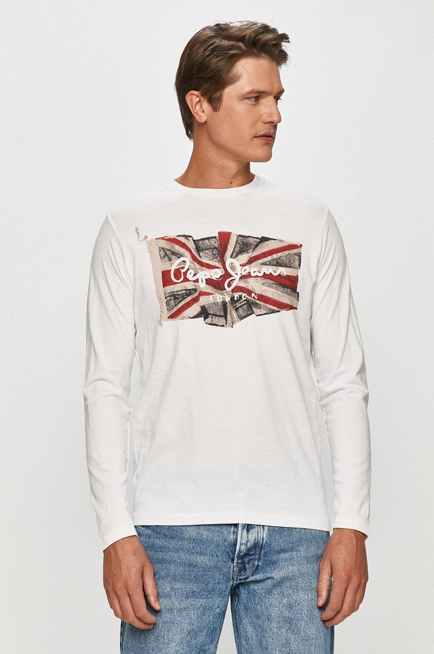 Pepe Jeans - Longsleeve Flag Logo imagine