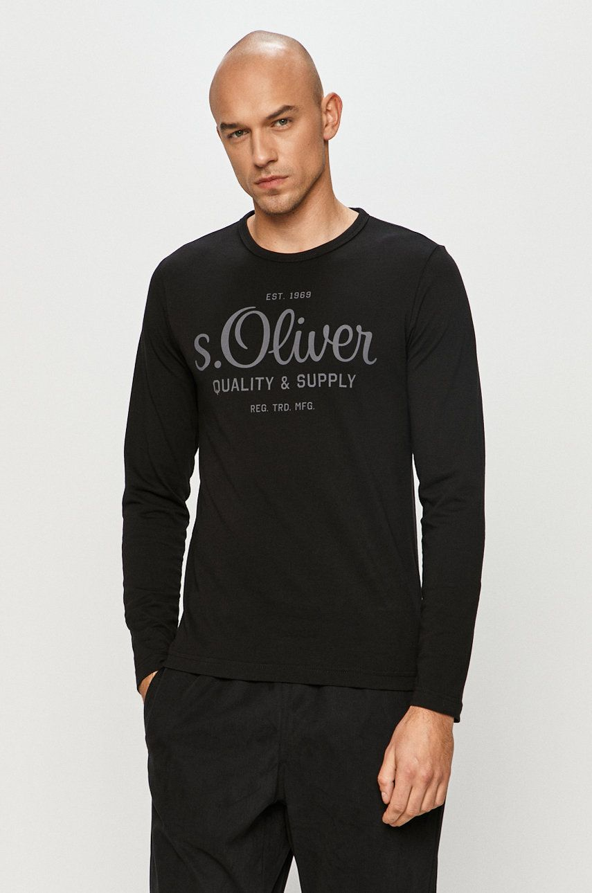 s. Oliver - Tričko s dlhým rúkavom
