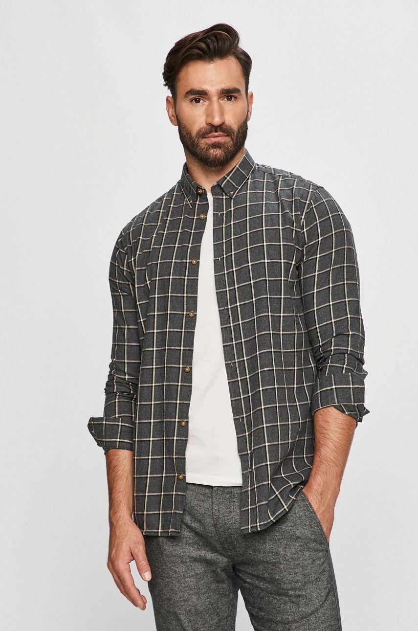 Tailored & Originals - Camasa din bumbac imagine answear.ro