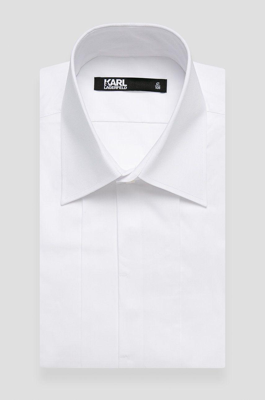 Karl Lagerfeld - Camasa din bumbac poza