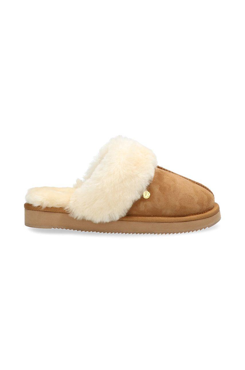 Mexx - Papuci din piele intoarsa Blixa