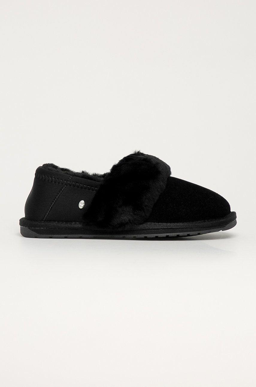 Emu Australia - Papuci din piele intoarsa Fortescue