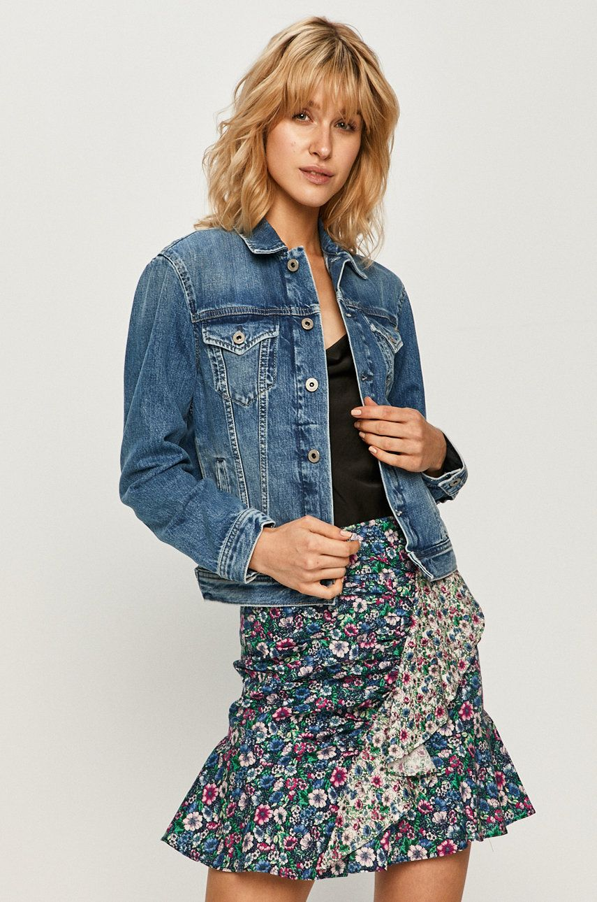 Pepe Jeans - Geaca jeans Rose