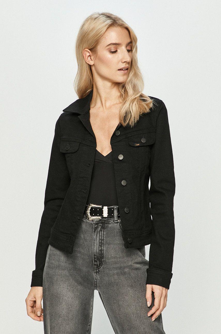 Lee - Geaca jeans poza answear