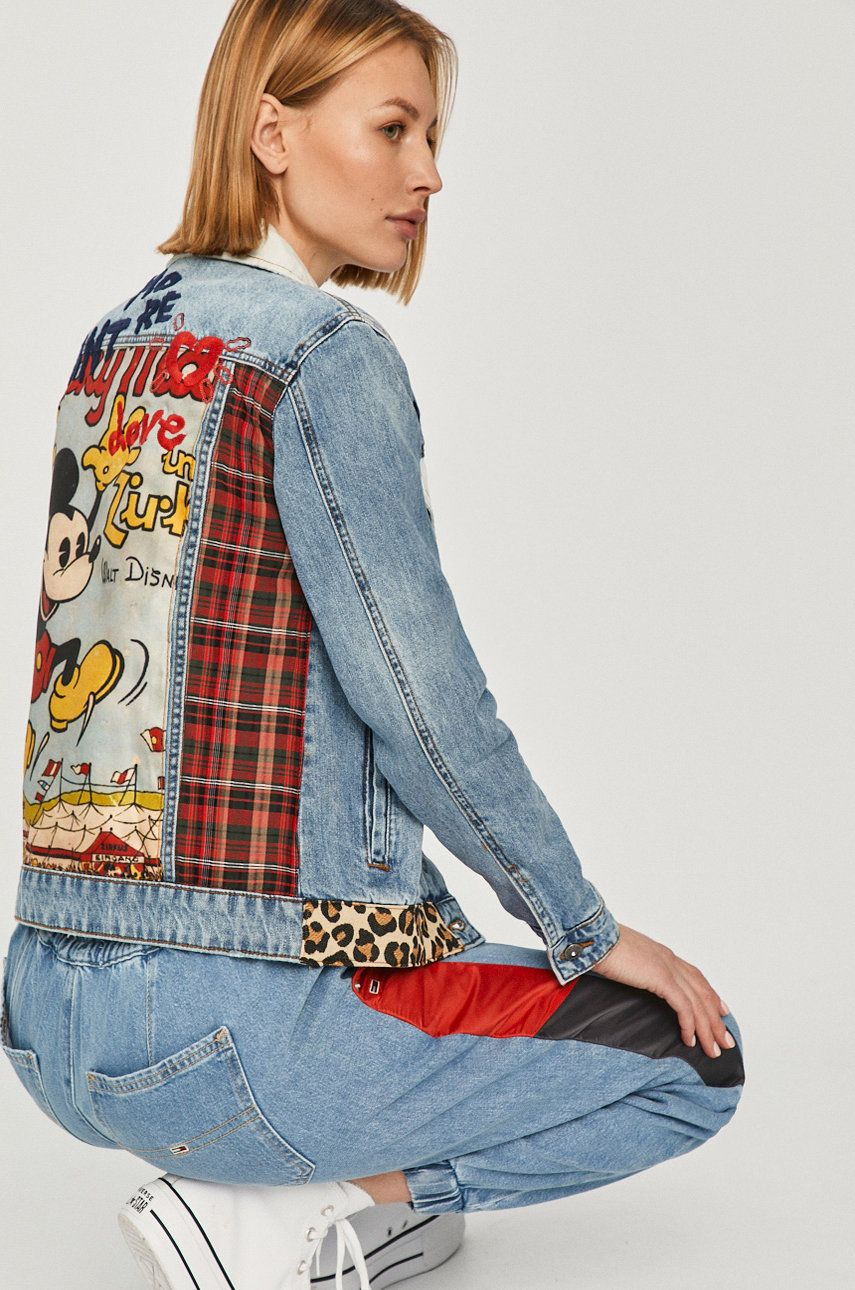 Desigual - Geaca jeans x Disney